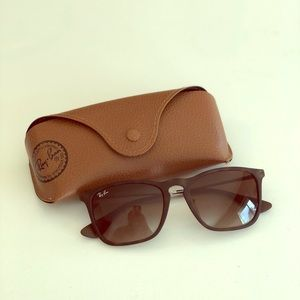 Ray-Ban Tortoise Matte Brown Sunglasses